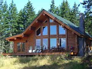 Tiny Home Builder Custom Log Homes in Oregon Washington