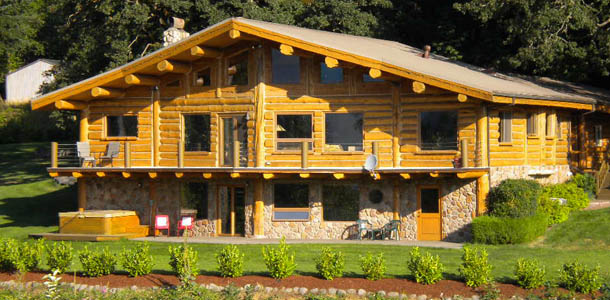Log homes and custom drive thru kits for concession for 2000 sq ft log cabin cost