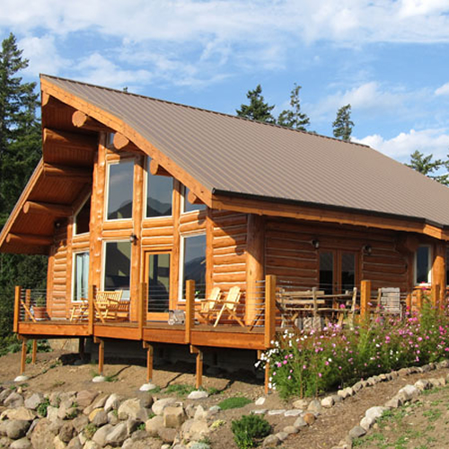 Modular log homes washington state beautiful the bear for Washington home builders